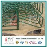 Треугольник покрынную PVC гальванизированную сваренную металлом загородку сада