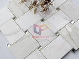 Стекло наружного зеркала заднего вида смешайте Calacatta Золотой мраморный вязки стиле мозаики (СГК1198)