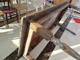 純木の庭のキャンプの家具の結婚披露宴のダイニングテーブル