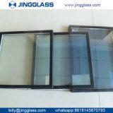 Vidro de vidro de construção da porta isolação Tempered tripla da tira da baixa E