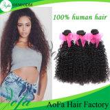 De dubbel Getrokken Uitbreiding van het Menselijke Haar van 100% Maagdelijke Braziliaanse