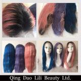 Perruque de lacet de cheveu de Remy de couleur d'Ombre de fascination d'excellence de prix de gros pleine