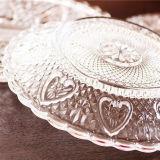 도매 명확한 투명한 유리 접시