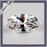 Loose Jóias Gemstone Aaaaa White Marquise Cut CZ