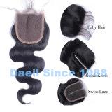 Chiusura cinese della parte anteriore del merletto dei prodotti per i capelli delle donne