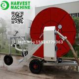 Máquina agricultural da irrigação do carretel da mangueira para a exploração agrícola