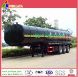 35m3 3essieux Chauffage de l'asphalte de cire semi remorque de camion citerne de bitume