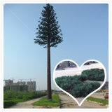 Torre Telecom de aço camuflada bem parecida da palmeira