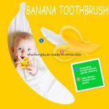 赤ん坊のトレーニングの歯ブラシのバナナのBabieの新生のシリコーンの落葉性歯ブラシの口腔衛生のための幼児歯ブラシのシリコーンの歯生期