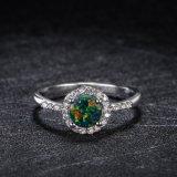 Form-nachgemachter Opalring mit Zircon-Stein für Frauen
