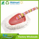 Escova limpa profissional de fio de algodão com alça de impressão