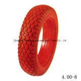 """L'azienda agricola lavora 8 il pneumatico di rotella di gomma Semi-Pneumatico di pollice 8 """" X1.75 """" Handtruck"""