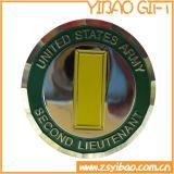 Qualitäts-preiswerte silberne Herausforderungs-Münzen-kundenspezifische antike Metallarmee-Münze für Andenken (YB-C-026)