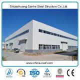 Vertentes pré-fabricadas claras do armazenamento do equipamento de exploração agrícola da construção de aço