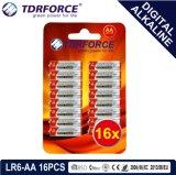 1.5V 중국 제조 디지털 1 차적인 알칼리성 건전지 (LR03-AAA 18PCS)