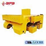 Camion di piastra metallica di trasporto ferroviario della fabbrica della fonderia per industria pesante sulle rotaie