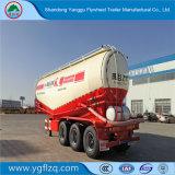 40-80t bulkCement 50cbm Tank van het Poeder van de Aanhangwagen van de Vrachtwagen van de Tanker de Semi met 3 Assen