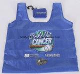Промотирование рекламируя сложенную хозяйственную сумку для подарков