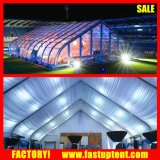 barraca Shaped do Tradeshow do dossel da curva do PVC de 30m com grande capacidade