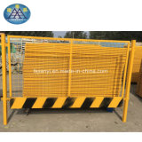 공장은 건물 도로를 위한 산업 안전 담의 모든 종류를 주문을 받아서 만들었다
