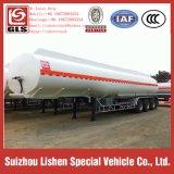 Öltanker-halb Schlussteil-Kohlenstoffstahl-Edelstahl-Kraftstoff-Tanker 39.3 Cmb Tri-Radachse Öltanker
