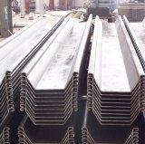 Van het staal de Materiële Stapel van het Blad Larssen van het u- Type Warmgewalste voor Bouwconstructie