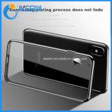 für iPhone X Fall weiches TPU und transparenten überzogenen Handy-Kasten