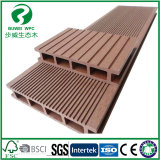 140x25mm Standard WPC Decking de plein air