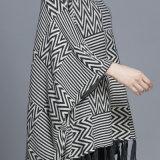 """Женщин моды рисунком """"елочкой"""" хлопок нейлоновые трикотажные зимой шаль (YKY4526)"""