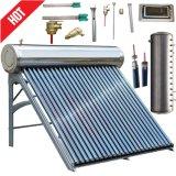 Солнечный коллектор подогревателя воды гейзера высокого давления солнечный