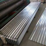 tôle d'acier ondulée galvanisée plongée chaude de 0.14mm pour la bobine de toiture