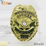 O logotipo personalizado Fashion 3D Exército monograma da Polícia Militar de Metal