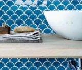 Secteur ou l'échelle de poissons de la glace Crack Mosaïque en porcelaine pour Wall Tile