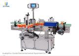 Vollautomatische Zeile runde Flasche Rollen-Führen Etikettiermaschine