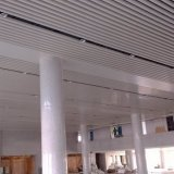 Потолок алюминиевого дефлектора линейный с самомоднейшей конструкцией для нутряная декоративной