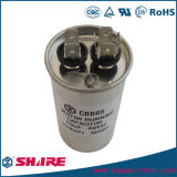 Cbb65 단일 위상 AC 에어 컨디셔너 금속은 축전기 할 수 있다