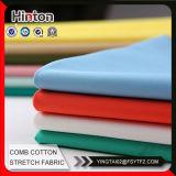 Il cotone di buona qualità ansima il tessuto con Spandex