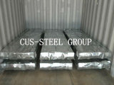 Etiopía SGS galvanizado cubiertas de zinc / chapa galvanizada de acero corrugado