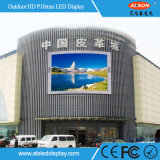 DIP de P10 a todo color de LED pantalla LED para publicidad exterior