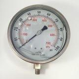 048 150mm 모든 Stainless 강철 액체에 의하여 채워지는 압력 계기