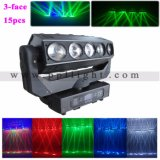 indicatore luminoso fantasma 3X5 indicatore luminoso capo mobile del fascio di 12W X di 15PCS LED