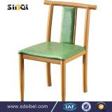 2017 최신 판매 공장 직접 쌓을수 있는 고무 목제 십자가 뒤 의자, Rattan/Yj-110를 가진 의자 디자인을 식사하는 나무로 되는 X 뒤