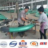De hete Voorgespannen Concrete Draad Met grote trekspanning van de Verkoop met Spiraalvormige Ribben