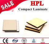 Tarjeta de los muebles de HPL/laminado laminados 8m m del compacto