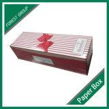 Barnizado mate Flor Caja de papel de embalaje de cartón ondulado
