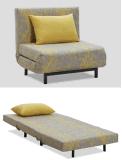 ホテルのプロジェクトのためのすべての金属フレームの単一のソファーベッド