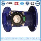 Contador del agua fotoeléctrico horizontal de Dn100mm Woltman