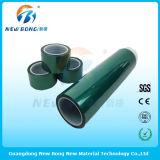 Films protecteurs de PVC de longue de roulis couleur de noir pour la plaque d'acier inoxydable