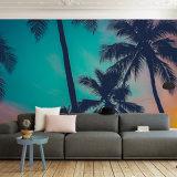 Hohe Auflösung-natürliche Landschaft-eindeutige Entwurfs-Vinylwand-Wandbilder