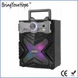 Altoparlante portatile di legno chiaro variopinto della discoteca LED Bluetooth (XH-PS-926)